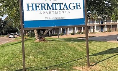 Hermitage Apartments, 1