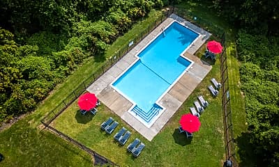 Pool, Windsor Court Townhomes, 0