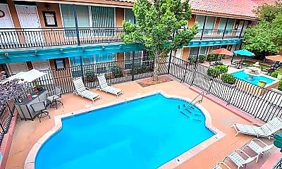 Pool, Sandia Shadows Apartments, 1