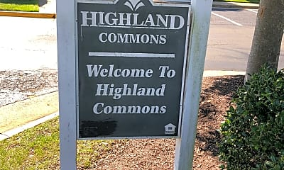 Highland Commons, 1