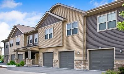 Building, High Bluff Apartments and Townhomes, 1