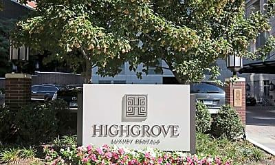 Community Signage, Highgrove, 2