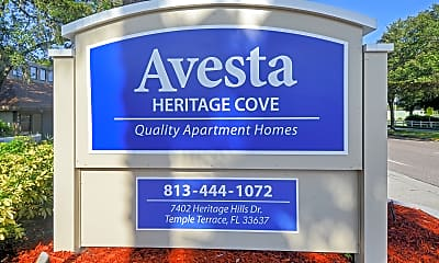 Community Signage, Heritage Cove Apartments, 2
