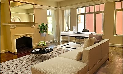 Living Room, 666 Post St, 1