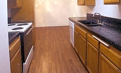 Kitchen, North Bonita Racquet Club Apartments, 1