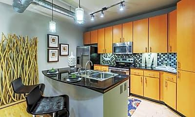 Kitchen, Mosaic South End, 1