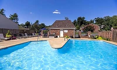 Pool, Preston Square Apartments, 1