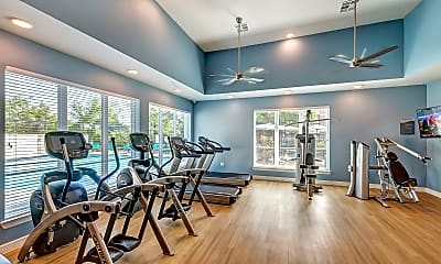 Fitness Weight Room, Winding Creek at the Preserve, 2