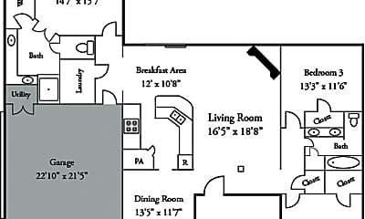 Building, 2303 Roslyn Ct, 2