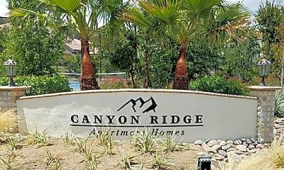 Community Signage, Canyon Ridge, 0