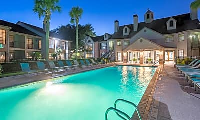Pool, The Huntley Apartments, 0