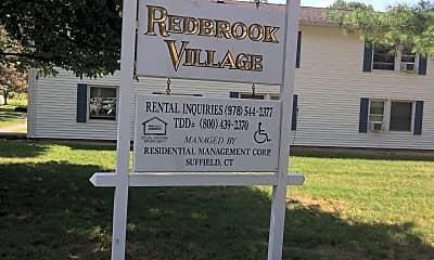 Redbrook Village, 1