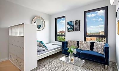 Living Room, 37-46 72nd St 4-K, 0
