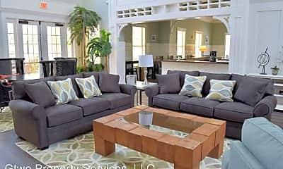 Living Room, 2801 Chancellorsville Drive Unit # 412, 1