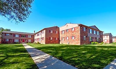 Building, Village Grove Apartments, 1