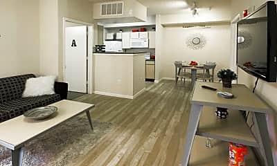 Living Room, Alight West Lafayette, 1