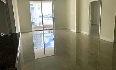 Living Room, 701 Brickell Key Blvd 1606, 1