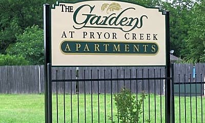 Community Signage, The Gardens at Pryor Creek, 2