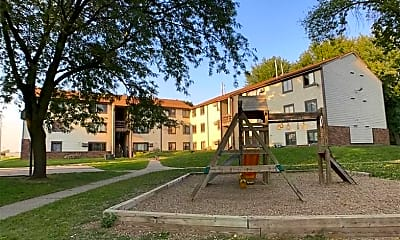 Playground, Courtyard Apartments, 1