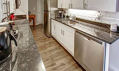 Kitchen, Shakespeare Apartments, 0
