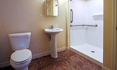 Bathroom, Trent Village Senior Apartments, 2