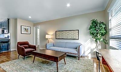 Living Room, 437 San Vicente Blvd, 1
