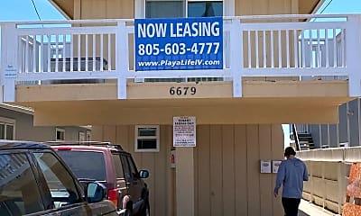 Building, 6679 Del Playa Dr, 1