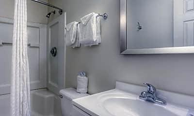 Bathroom, Hometowne Studios - Louisville, 2