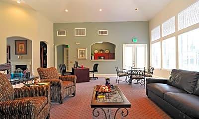 Living Room, Cedar Park Townhomes, 1