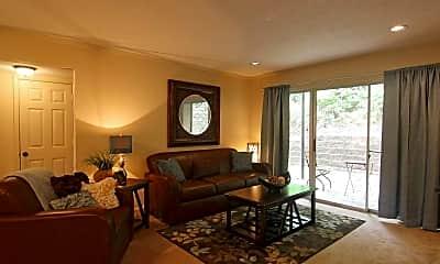 Living Room, Riverbend Club Apartments, 1