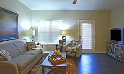 Living Room, The Element Apartments, 1
