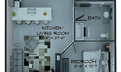 Bathroom, 529 Chestnut St, 2