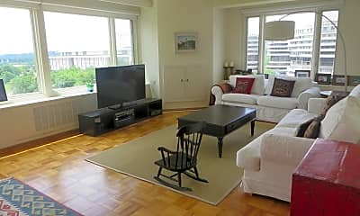 Living Room, 2475 Virginia Ave NW 822, 1