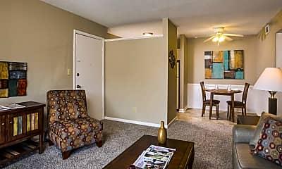 Living Room, Skyline Apartments, 2