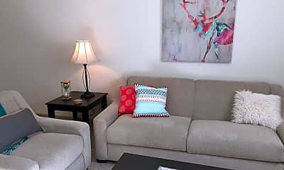 Living Room, Residology Furnished Apartments, 1