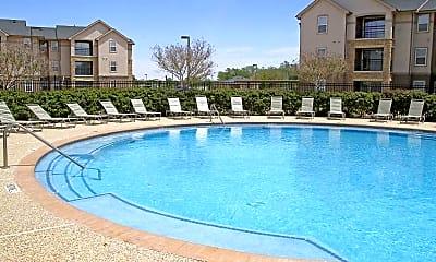 Pool, University Courtyard, 2