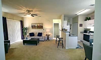 Living Room, Cedar Springs, 1