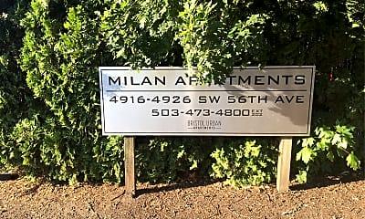 Milan Apartments, 1