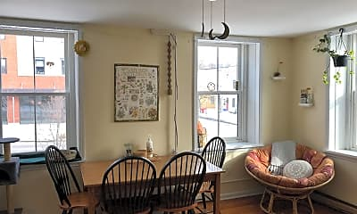 Dining Room, 201 St Paul St, 1
