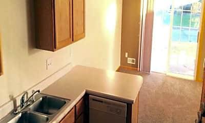 Kitchen, Woodland Townhomes, 1