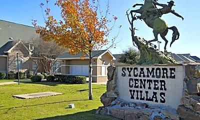 Community Signage, Sycamore Center Villas, 2