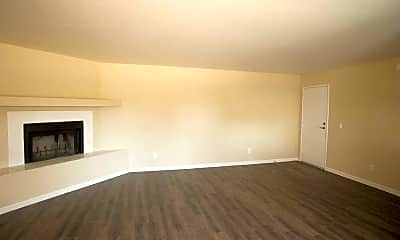 Living Room, Copper Point Apartments, 1