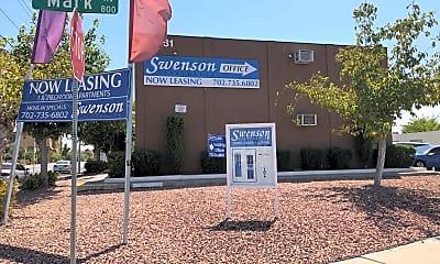 Swenson Apartments, 1