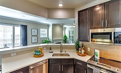 Kitchen, The Caruth, 1