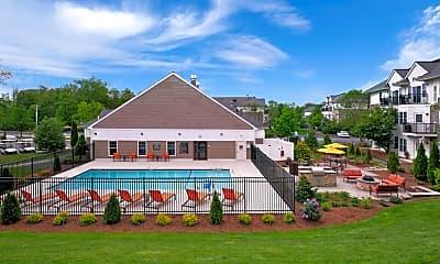 Pool, Halstead Abington, 1
