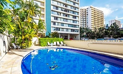 Pool, 435 Seaside Ave 1202, 2