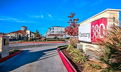 Community Signage, Century 380, 2