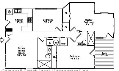 Building, 1507 W Bryn Mawr Ave, 2