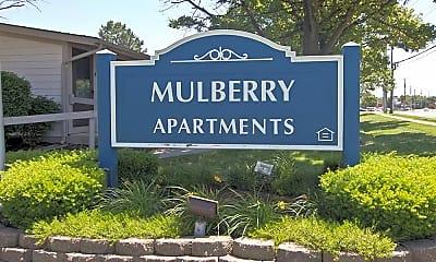 Community Signage, Mulberry Apartments, 2