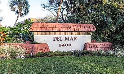 Community Signage, 5400 Florida A1A C6, 2